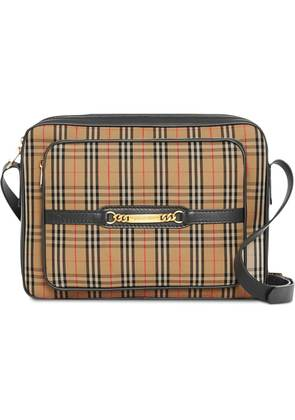 Burberry The Large 1983 Check Link Camera Bag - Nude & Neutrals