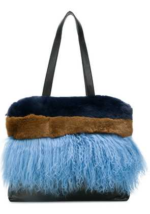 P.A.R.O.S.H. panelled tote - Blue