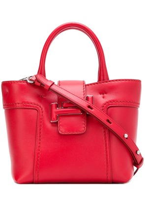 Tod's Double T shopping mini bag - Red