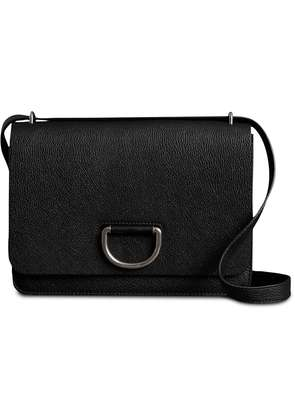 Burberry The Medium Leather D-ring Bag - Black