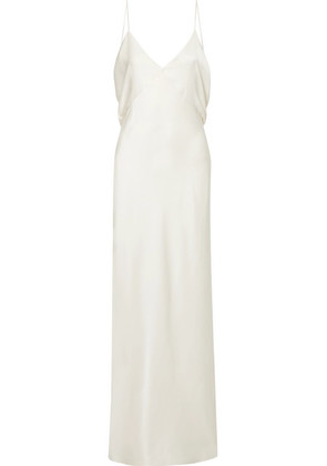 The Row - Gran Open-back Silk-satin Gown - Ivory