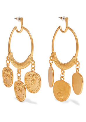 Kenneth Jay Lane - Gold-plated Earrings - one size