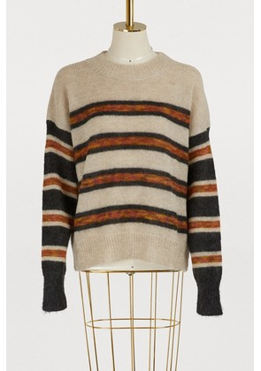 Russell mohair and wool sweater