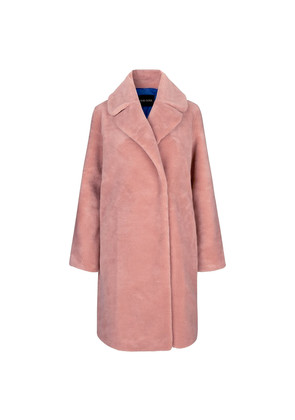 Concord Faux Fur Coat - Pink