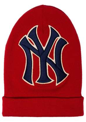 Gucci NY Yankees Embroidered Wool Hat