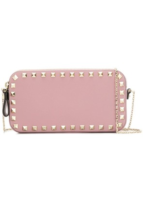 Valentino VALENTINO QW0P0P55BOL 0no Leather - Pink & Purple