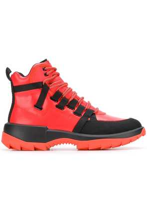 Camper Lab ankle lace-up boots - Pink