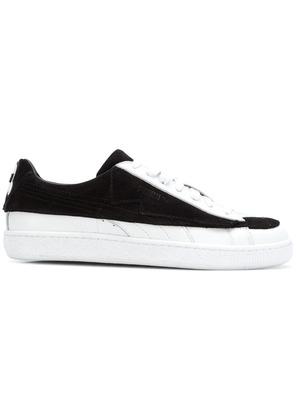 Puma flat lace-up sneakers - Black