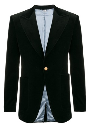 Gucci single breasted blazer - Black