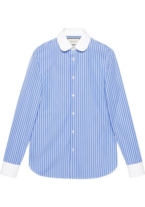 Gucci Striped cotton shirt - Blue