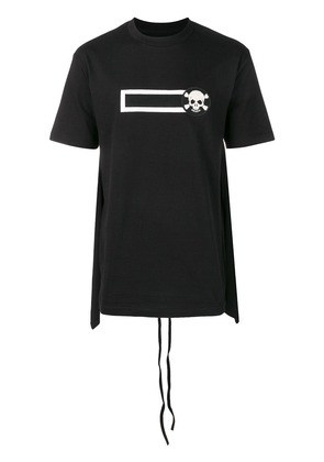 D.Gnak skull embroiled T-shirt - Black