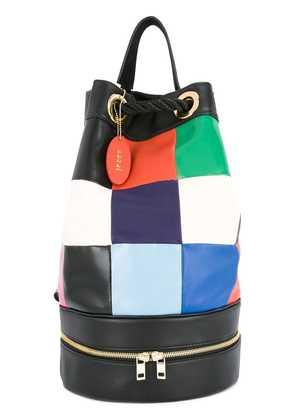 Sacai patchwork backpack - Multicolour