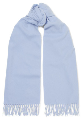 Acne Studios - Canada Narrow Fringed Wool Scarf - Lilac