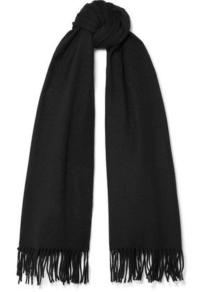 Acne Studios - Canada Fringed Wool Scarf - Black
