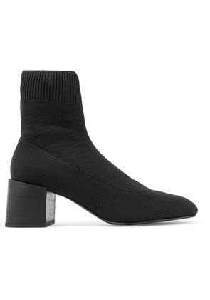 Acne Studios - Ribbed-knit Sock Boots - Black