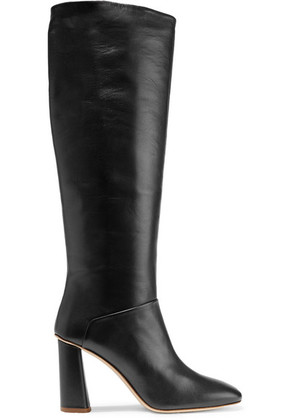 Acne Studios - Leather Knee Boots - Black