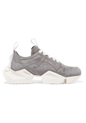 Unravel Project - Suede Sneakers - Gray
