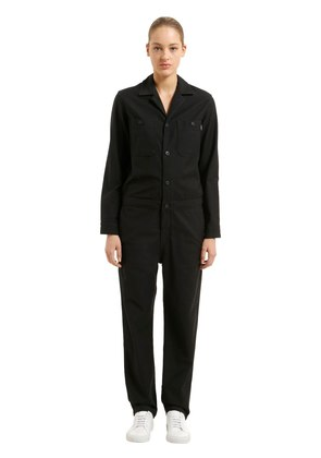 CASS COTTON GABARDINE JUMPSUIT