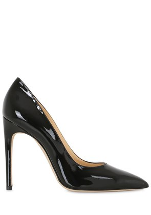 110MM PATENT LEATHER PUMPS