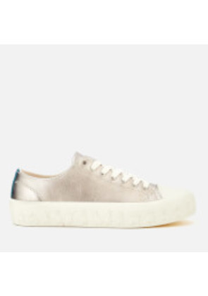 Paul Smith Women's Thea Rabbit Vulcanised Trainers - Silver - UK 3 - Silver