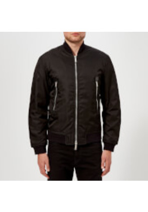 Dsquared2 Men's Nylon Puffa Bomber Jacket - Black - EU 50/L - Black