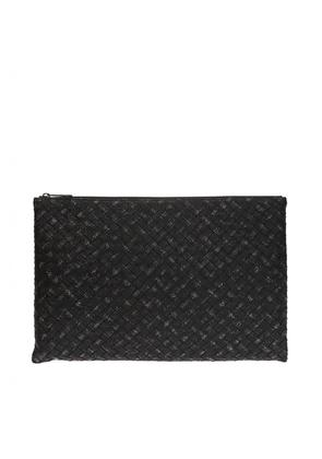 Bottega Veneta Clutch bag with an 'Intercciato' braid