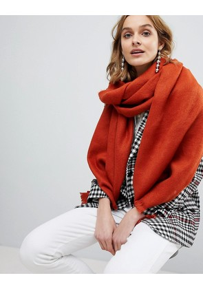 ASOS Super Soft Long Woven Scarf - Brown