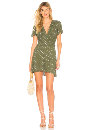Polly Goldie Mini Dress