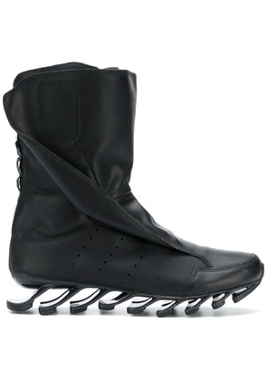 Adidas By Rick Owens abstract sole boots - Black