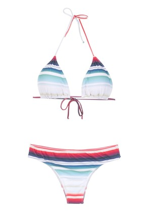 Brigitte striped bikini set - Multicolour