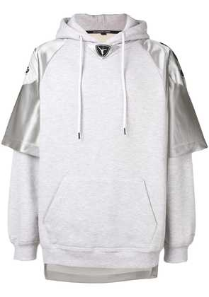 Alexander Wang Football hooded sweatshirt - Grey