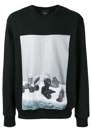 3.1 Phillip Lim photographic print sweatshirt - Black