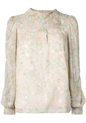 See By Chloé paisley patterned blouse - Nude & Neutrals