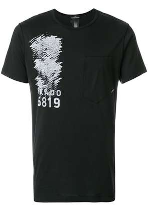 Stone Island Shadow Project printed T-shirt - Black