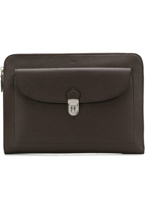 Tod's calf leather pouch - Brown