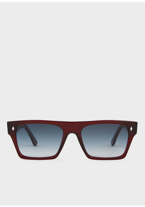 Cutler And Gross + Paul Smith - Bristol Red Sunglasses - Limited Edition