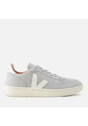 Veja Men's V-10 Bastille Nubuck Oxford Trainers - Oxford Grey - EU 43/UK 9 - Grey