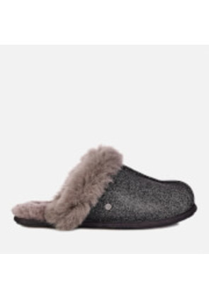 UGG Women's Scuffette II Sparkle Slippers - Black - UK 7.5 - Black