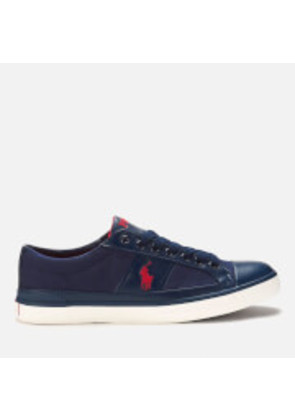 Polo Ralph Lauren Men's Churston Canvas Trainers - Newport Navy - UK 8 - Navy