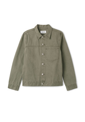 Core Denim Jacket - Green