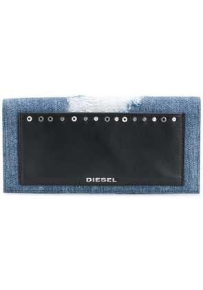 Diesel front patched wallet - Blue