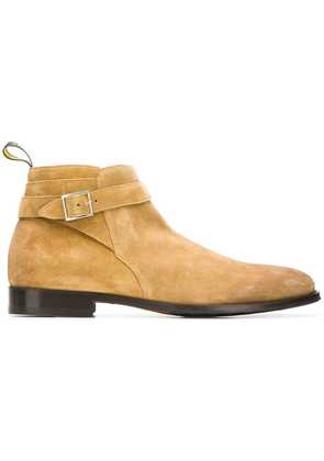 Doucal's buckle detail ankle boots - Neutrals