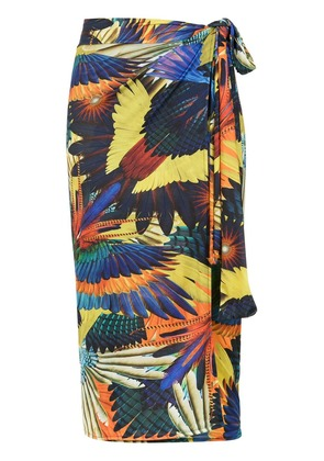 Lygia & Nanny printed Orixa beach cover-up - Multicolour