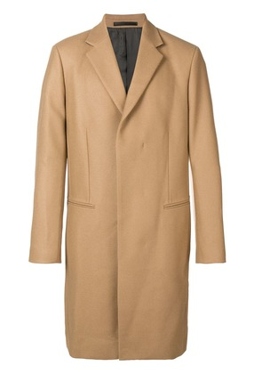 Theory single breasted coat - Brown