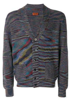 Missoni patterned knit cardigan - Multicolour