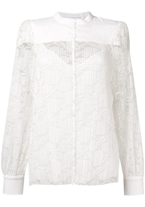 See By Chloé lace blouse - White