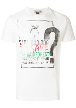 Vivienne Westwood Save The Rainforest T-shirt - White