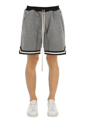 FRENCH TERRY BASKETBALL SHORTS