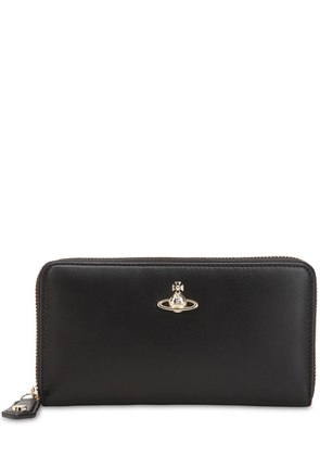 EMMA CLASSIC LEATHER ZIP AROUND WALLET