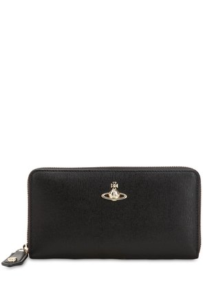 VICTORIA CLASSIC LEATHER ZIP WALLET